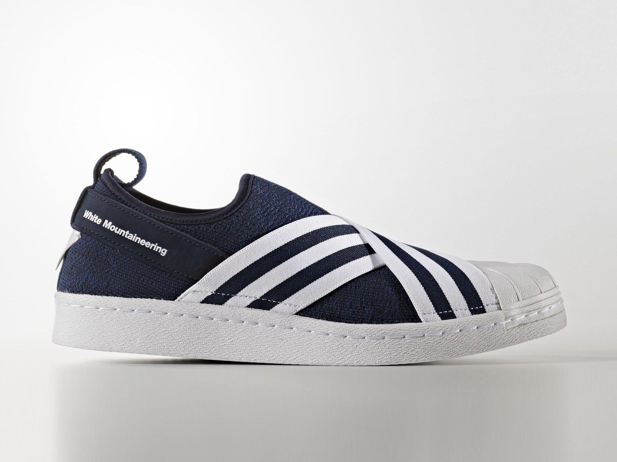 Adidas Superstar Slip On Mountaineering Navy Blue