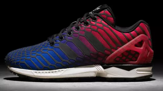 Adidas Zx Flux Red Blue Xeno