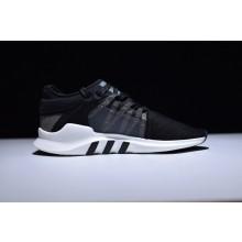Adidas EQT Support ADV Primeknit Black White Stripes