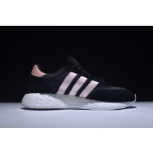 Adidas Iniki Boost Runner Black Pink