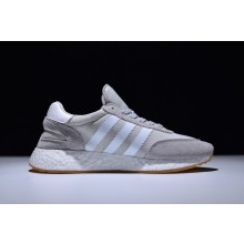 Adidas Iniki Boost Runner Grey White