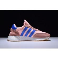 Adidas Iniki Boost Runner Pink Blue