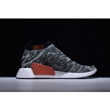 Adidas NMD City Sock 2 Grey Black Stripe