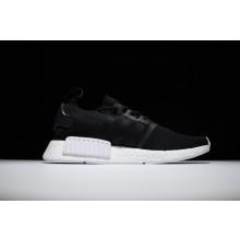 Adidas NMD R1 Primeknit Black White