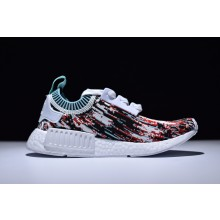 Adidas NMD R1 Primeknit Camouflage Red Green