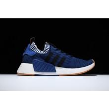 Adidas NMD R2 Primeknit Deep Blue