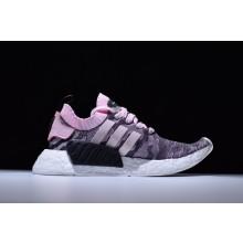 Adidas NMD R2 Primeknit Pink Black
