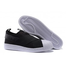 Adidas Superstar Slip On Black