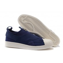 Adidas Superstar Slip On Blue