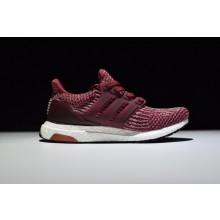 Adidas Ultra Boost 3.0 Wine Red