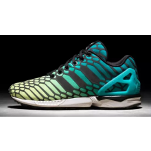 Adidas Zx Flux Green Yellow Xeno
