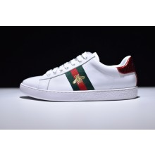 Gucci Ace Bee Embroidered Low - Top Sneaker