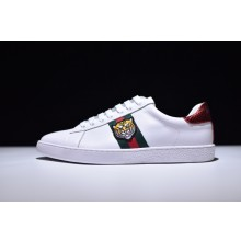 Gucci Ace Tiger Embroidered Low - Top Sneaker