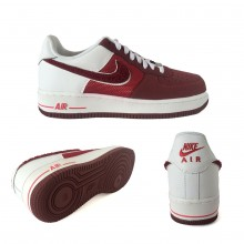 Nike Air Force 1 Wine Red White