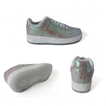 Nike Air Force 1 Premium PRM White Metal Silver