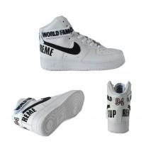 Nike Air Force 1 High Supreme White Black