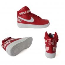 Nike Air Force 1 High Supreme Red