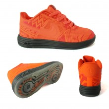 Nike Air Force 1 Limited Edition Orange Red
