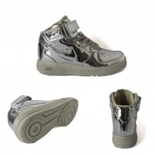 Nike Air Force 1 Mid 07 Silver