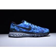 Nike Air Max 2017 Blue Black White Luminous Reflection