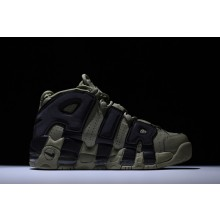 Nike Air More Uptempo Green Black