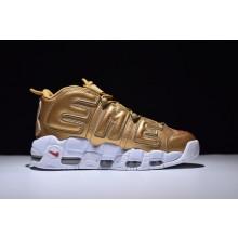 Nike Air More UPTEMPOxSupreme Gold
