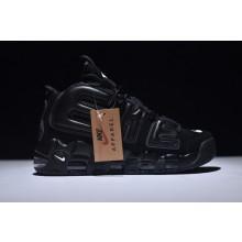 Nike Air More UPTEMPOxSupreme Triple Black