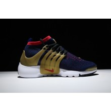 Nike Air Presto Ultra Flyknit Olympic Gold Blue Red