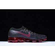 Nike Air VaporMax Black Winered