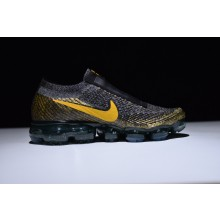 Nike Air Vapormax Flyknit Black Yellow