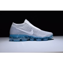 Nike Air Vapormax Flyknit Wolf Grey Blue