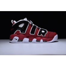 Nike Air More Uptempo Red Black