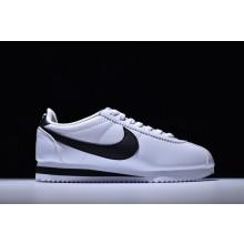 Nike Cortez Classic Leather White Black