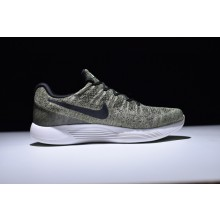 Nike LunarEpic Flyknit 2 Rough Green Black