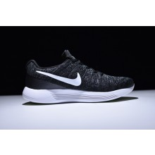 Nike LunarEpic Flyknit 2 Black White Anthracite