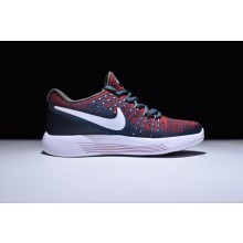 Nike LunarEpic Flyknit 2 Deep Blue Red