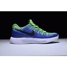 Nike LunarEpic Flyknit 2 Electro Green Blue