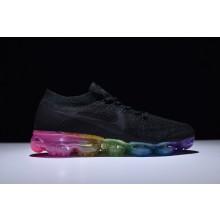 Nike VaporMax Flyknit Black Rainbow