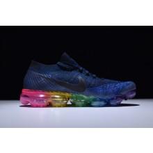 Nike VaporMax Flyknit Blue Rainbow
