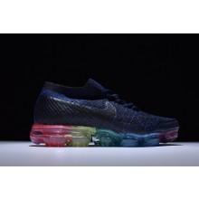 Nike VaporMax Flyknit Deep Blue Rainbow