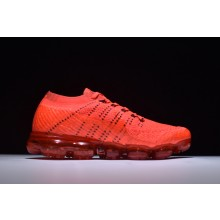 Nike VaporMax Flyknit Orange Black