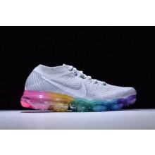 Nike VaporMax Flyknit White Rainbow