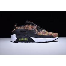 Nike Air Max 90 Flyknit Black Rainbow