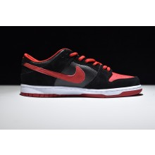 Nike Dunk Low Pro SB Black Red