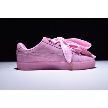 Puma Suede Basket Heart Light Pink