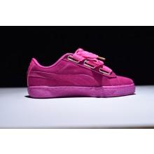 Puma Suede Basket Heart Pink
